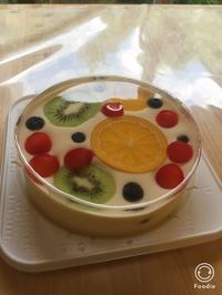 水たまレアチーズケーキレッスン - 調布の小さな手作りお菓子教室 アトリエタルトタタン