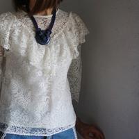 sophie hallette  lace blouse - 美人レッスン帳 BELA VISTA編