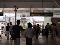 スナップ  駅構内にて - エンジェルの画日記・音楽の散歩道