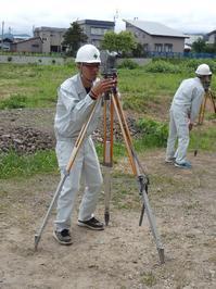 角度を測る前に - 青森技専校の訓練日誌