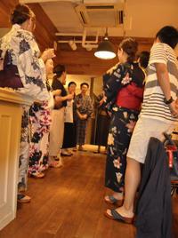 mizutori 浴衣to下駄deきき茶婚活パーティ 開催いたしました。 - 下駄げたライフ