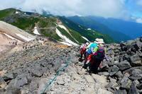 *** 乗鞍岳剣ヶ峰下山 富士見岳登頂(2,817M) 編 *** - 風の便り