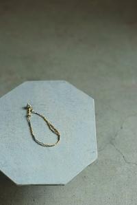 silver × antique  parts  gold bracelet - womb_a_closet