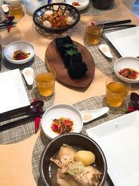 サムゲタンクラスはじまりました - 今日も食べようキムチっ子クラブ(料理研究家 結城奈佳の韓国料理教室)