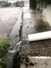 異常な雨 - ちょんまげブログ