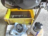 オージー兄ぃ号 ストリートトリプル675のオイル交換やスロットルバルブ清掃・・・(^^♪ - バイクパーツ買取・販売&バイクバッテリーのフロントロウ!