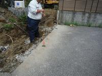 ブロック塀とフェンス~測量とブロック積み - 市原市リフォーム店の社長日記・・・日日是好日