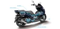 「PCX HYBRID」発売 - バイクの横輪