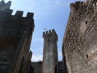 丘の上のスカリジェロ城 (Castello Scaligero) - エミリアからの便り