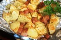■簡単で美味しいおつまみ【ベーコンポテチーのホイル焼き】 - 「料理と趣味の部屋」