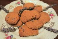 夫手作りラベンダー・クッキー - イタリア写真草子 Fotoblog da Perugia