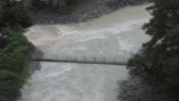 雨の被害なく、付知川もいつもの青川になりました! - 付知町観光協会情報