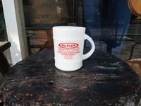 Fire King Advertising Mug  - DELIGHT CLOTHING&SUPPLY