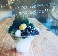 ひんやり氷、今年もやります! - はんなりかふぇ・京の飴工房 「憩和井(iwai)  清水五条店」Cafe iwai Kiyomizu-gojo and Kyoto_Candy Shop