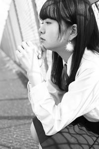 川本好華ちゃん13 - モノクロポートレート写真館