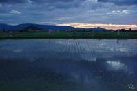橿原市 藤原宮の夕景:1 - ぶらり記録(写真) 奈良・大阪・・・