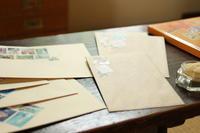 切手を貼るのが楽しくなるハンコ♪ - キラキラのある日々