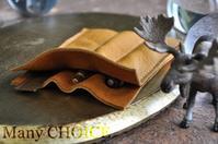 限りなくシンプルで、ミニマムな3本差しペンケース - 時を刻む革小物 Many CHOICE~ 使い手と共に生きるタンニン鞣しの革