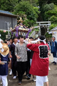 秋谷神明社御祭禮 2018−3小中学生 - sadwat  blog
