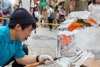 氷の彫刻 - 休日PHOTOブログ