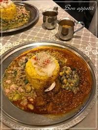 旧ヤム鐵道でスパイスカレー @大阪/梅田・ルクアバルチカ - Bon appetit!