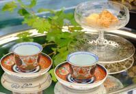 古伊万里でお茶時間 - カエルのバヴァルダージュな時間
