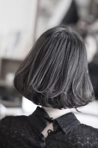 ボブブラックボブ - 空便り 髪にやさしいヘアサロン 髪にやさしいヘアカラー くせ毛を愛せる唯一のサロン
