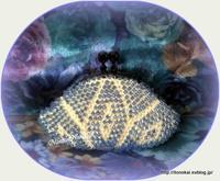 ビーズ編みminiがま口♪ - ルーマニアン・マクラメに魅せられて