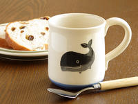 クジラのマグカップで暑い夏を吹き飛ばそう! - ブルーベルの森-ブログ-英国のハンドメイド陶器と雑貨の通販