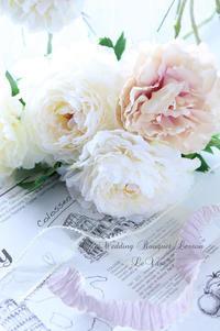 Wedding Bouquet プライベートレッスン♡ - Le vase*  diary 横浜元町の花教室