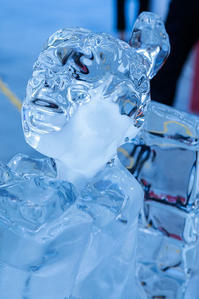 氷の彫刻Ⅱ - 休日PHOTOブログ