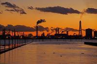 ロケット雲出現2018-07-11更新 - 夕陽に魅せられて・・・