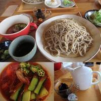 そばとカフェ 凱-Toki- * そばカフェの夏限定メニュー♪ @小諸 - ぴきょログ~軽井沢でぐーたら生活~