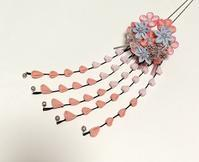 うーさんの、二重の花かんざし - つまみ細工鶫屋(つぐみや)つれづれなるまま日記