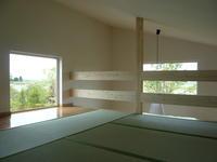 ロフトを和室に - 函館の建築家 『北崎 賢』日々の遊びと仕事