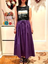 手作りのシンプルギャザースカートとお揃いのとトップス - Sew Easy New York