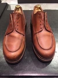 パラブーツの補色 - シューケア靴磨き工房 ルクアイーレ イセタンメンズスタイル <紳士靴・婦人靴のケア&修理>