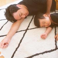 パパとお昼寝 - ゆらゆら blog