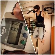 GACKTインスタグラム:日本最終日のトレーニング。 - 風恋華Diary