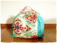 きもの帯リメイク 防具袋 for kids  - 和小物クリエイター こだわりのあったらいいな♪をカタチに『てしごと日月堂』店主のブログ