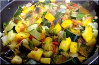 我が家産の野菜で・・・ラタトゥイユ - なんだかんだ日記