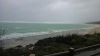 台風見回り@大度海岸(ジョン万ビーチ) - 沖縄本島最南端・糸満の水中世界をご案内!「海の遊び処 なかゆくい」