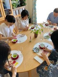 【星祭り~カジュアルお抹茶会】 - シニョーラKAYOのイタリアンな生活