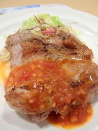 【クーポンで】ガスト若鶏グリル ガーリックソースドリンクバー寄せ豆腐のサラダ 634円【お得に】 - 続・食欲記