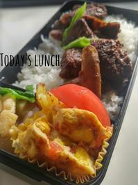 息子のお弁当49 - 料理研究家ブログ行長万里  日本全国 美味しい話