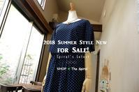 """2018 Summer Style New for Sale!... 7/11wed"" - SHOP ◆ The Spiralという館~カフェとインポート雑貨のある次世代型セレクトショップ~"
