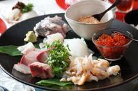 近江町市場の魚で手巻き寿司 - 登志子のキッチン