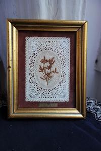 カニヴェ入り木製金彩額771 - スペイン・バルセロナ・アンティーク gyu's shop