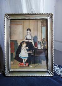 母子像画入りアルパカフォトフレーム772 - スペイン・バルセロナ・アンティーク gyu's shop