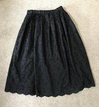 黒のレースのスカート出来上がりました - アトリエ A.Y. 洋裁教室